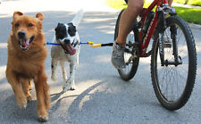 Bike Tow Leash AND 2 Dog Coupler Combo Set Red, Orange, Yellow FREE SHIPPING New