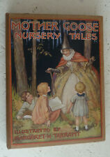 Vintage Book 1927 Mother Goose Nursery Tales Colour Illustrated Margaret Tarrant