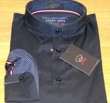 New Paul & Shark stunning Blue shirt Shark Fit size Large 42cm 100% Cotton WOW!!