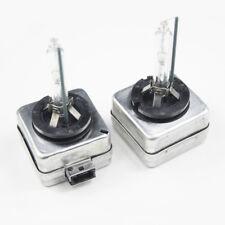 2 x D1S HID Xenon Light Bulbs Headlight Replacement Lamps Bi-Xenon Crystal White