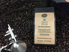 ESPRESSO COFFEE - 5LBS OF 6  BEAN ESPRESSO BLEND. FRESH, ROAST TO ORDER COFFEE.