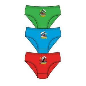 3 Pairs Boys Paw Patrol Underwear Briefs Pants 100% Cotton Ages 1-5 Years
