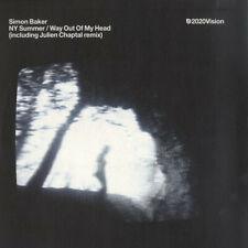 "Simon Baker - NY Summer / Way Out Of My Head / VG+ / 12"", Ltd"