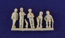 Milicast 1/76 American AFV Crew in pose Casual FIG002