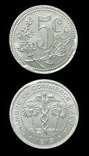 1919 Algeria 5 Cent Token - Aluminum LEC-129 - Choice UNC