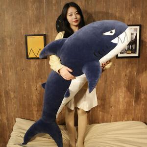 Latest Shark Stuffed Animal Plush Soft Doll Pillow Sofa Toy Giant Huge Kids Gift