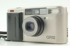 """Near MINT"" Ricoh GR10 Silver Point & Shoot 35mm Film Camera from Japan #101"