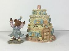Boyd's Bears Route 33 1/3 Bailey's Frosted Cottage 19900 2nd Edition New