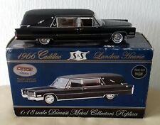 Model Auto - 66 Cadillac Landau Hearse -  Leichenwagen - 1 : 18 mit orig. Karton