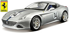Ferrari California T #14 PLATA 70th ANIVERSARIO collection1:18 Bburago