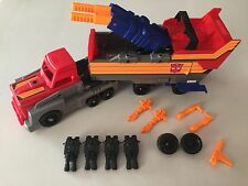 Transformers G1 1990 OPTIMUS PRIME Armored Convoy Action Master no figure