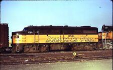Spokane Portland & Seattle #858 Dec 1970 VINTAGE DUPE KODACHROME -Railroad