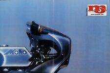 MOKO-Kawasaki 1000 Poster aus der Zeitschrift mo 1981 Flugplatzrennen Speyer