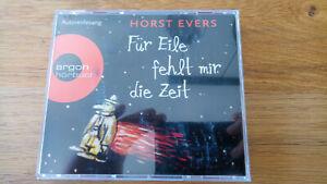 Hörbuch / Horst Evers - Für Eile fehlt mir die Zeit