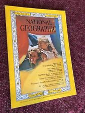 NATIONAL GEOGRAPHIC-WALT DISNEY WORLD-MAP/INCLUDED-NO ODOR-VG COND-AUGUST, 1963