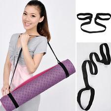 FM- Portable Yoga Mat Carry Sling Carrier Shoulder Strap Belt Assistant Tool Stu
