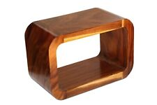 Wooden Solid Wood Modern Coffee Table Night Stand Accent Display Side End Table