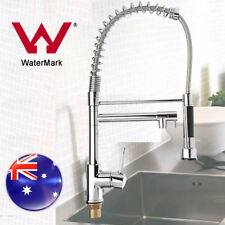 NEW Kitchen Sink Swivel Spout Faucet Pull Down Spray Mixer Tap Chrome WATERMARK