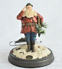 Saturday Evening Post Collection Doughboy Santa Christmas Figurine 1999