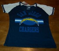 VINTAGE STYLE WOMEN'S TEEN SAN DIEGO CHARGERS NFL FOOTBALL T-Shirt MEDIUM NEW