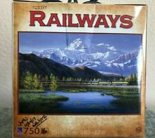 """Railways 750 piece Jigsaw Puzzle """"On A clear Day"""" by Sure-Lox"""