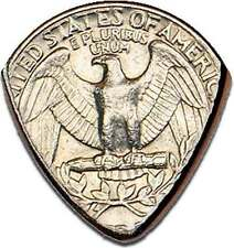 1965+ RANDOM DATE OR STATE QUARTER GUITAR PICK COIN - HAND MADE IN THE USA!
