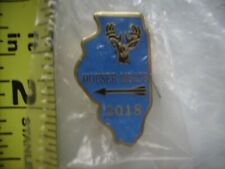 ARCHERY//BOW ~ Free Shipping!!~NEW /& UNOPENED 2017 Illinois Deer Harvest Pin