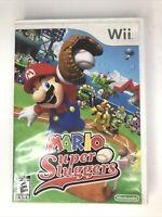 Mario Super Sluggers (Nintendo Wii, 2008) TESTED & COMPLETE