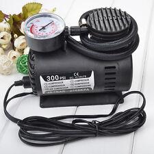 Heavy Duty Portable Car Tyre Auto Tire Inflator Pump Air Compressor 12V 300 PSI