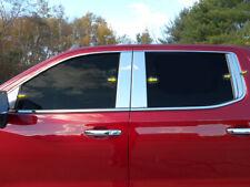10PCS Chrome Stainless Pillar Posts FOR 2019 2020 Chevy Silverado 1500 Crew Cab