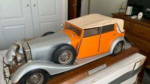 Pocher Torpedo Cabriolet Phantom II Rolls Royce model car