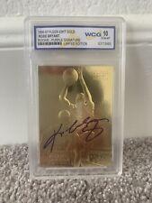 KOBE BRYANT ROOKIE CARD 23K GOLD AUTO LA Lakers Graded GEM Mint 10 Rare