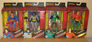 DC MULTIVERSE SUPER FRIENDS COMPLETE BATMAN SUPERMAN AQUAMAN GREEN LANTERN NEW