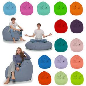 HomeIdeal - Sitzsack 2-in-1 Funktionen  Bodenkissen für Erwachsene & Kinder