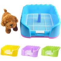 Portable Fenced Tray Grid Litter Box Dog Training Toilet Pet Potty Supplies Well