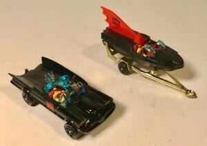 "Corgi ""WhizzWheels"" Batmobile w/Bat Boat RARE TIRE VARIATION - NM/Mint Condition"