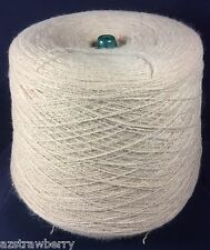 Machine Knitting Cone Spool Yarn Weaving Loom Thread Beige 1 lb 8 oz