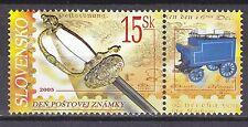 SLOVAKIA 2005 **MNH SC# 491 Stamp Day - Illustration reduced + label