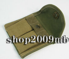 Army Green Collectable Clip Bag WWII US M1 Carbine Bag Ammunition canvas Pouch