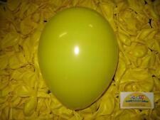 PALLONCINI in lattice GIALLO 25 pz. per feste e party eventi