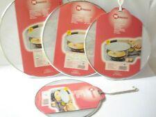 Couvercle Casserole Poêle Anti Projection ( 21+26+29+33) Cm  LOT  DE 4