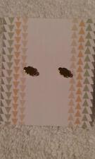 John Lewis - Costume Jewellery - Gold Effect Cloud Design Earrings - BNWT