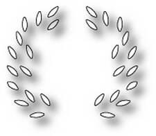 Caja de memoria de aclaramiento Die-Motivo De Hoja funciona con curvas cornamentas Die Nuevo
