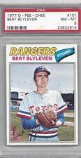 1977 OPC baseball card #101 Bert Blyleven, Texas Rangers graded PSA 8