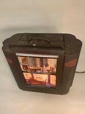 50's Vintage Chi-Namel Paints Salesman Sample Display Light Box w/ original art
