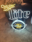 Indy 500 Miller Lite Neon Sign - RARE- 2016- You Gotta Go To Indy- Authentic