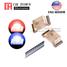 100PCS 0603 (1615) SMD SMT LED Diodes Bi-Color Red&Blue Light LED Diodes USA