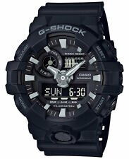 Casio G-Shock Men's Super Illuminator Analog Digital Black Watch GA700-1B