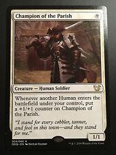 Carte Magic Champion de la Paroisse / of the Parish 4/80 Rare MTG NEUF VO
