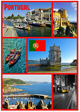 PORTUGAL - SOUVENIR NOVELTY FRIDGE MAGNET - SIGHTS / FLAGS - BRAND NEW - GIFTS